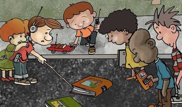 Зашто наша деца не читају књиге?!
